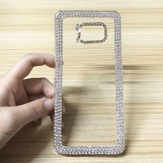 3D Luxury Bling Rhinestone Glitter Crystal Diamond Case For Samsung Galaxy Note 3 4 5 7 Coque Hard Clear Mobile Phone Back Cover