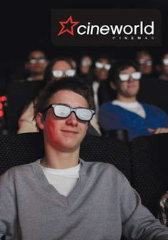 Two Cineworld Cinema Tickets for £12 - no excuse not to take her on a date!