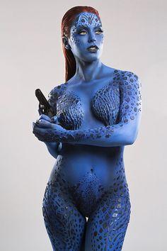 Character: Mystique (Raven Darkhölme) / From: MARVEL Comics 'The Uncanny X-Men' & Fox Films 'X-Men' / Cosplayer: Nadya Anton (aka Nadyasonika) / Photo: Ignacio Mendoza Fotografia (2015)