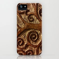 Wood+Carving+iPhone+&+iPod+Case+by+FolkLife+-+$35.00