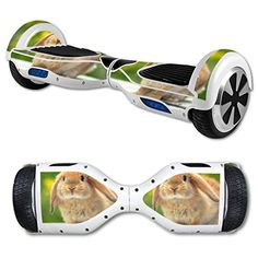 MightySkins Protective Vinyl Skin Decal for Hover Board Self Balancing Scooter mini 2 wheel x1 razor wrap cover sticker Rabbit -- Details can be found by clicking on the image.