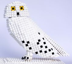 Stormy the Snowy Owl: A LEGO® creation by DeTomaso Pantera : MOCpages.com