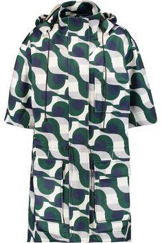 ETRE CECILE Printed stretch-scuba jacket. #etrececile #cloth #jacket