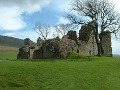Pendragon Castle in Cumbria, England supposedly where King Arthur's farther died. c.1173 and destroyed by fire in 1541