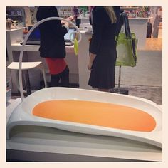 The Boon Fresh is the company's new changing table that was designed after the founders saw some ideas on Pinterest. The system's pad is changeable too.