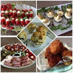 Na de desserts, nu wat ideeën voor buffet/borrelhapjes. De meesten zijn van tevoren klaar te maken, anderen, zoals de arancini, kunnen voor een gedeelte van tevoren klaargemaakt worden, maar moeten...