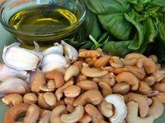 Vegan pesto recipe & variations.