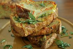 Zeleninový bochník s máslem Lchf Diet, Meatloaf, Salmon Burgers, Low Carb, Ethnic Recipes, Food, Low Carb Recipes, Meat Loaf, Hoods
