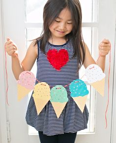 Ice Cream Garland