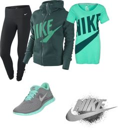"""nike"" by callico32 on Polyvore"