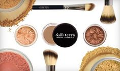 Groupon - Mineral Cosmetics from Bella Terra Mineral Cosmetics (Up to 78% Off). Three Options Available. in [missing {{location}} value]. Groupon deal price: $19