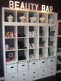 Beauty bar! So creative! www.marykay.co.uk/rebeccagreen