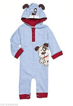 NEW Nursery Rhyme Puppy DOG Blue Coverall Baby Boy 3, 6, 9 months ~You pick $28 #Everyday