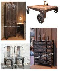 INDUSTRIAL FURNITURE, FACTORY FURNITURE, WORK FURNITURE, Vintage Industrial  Furniture Designs