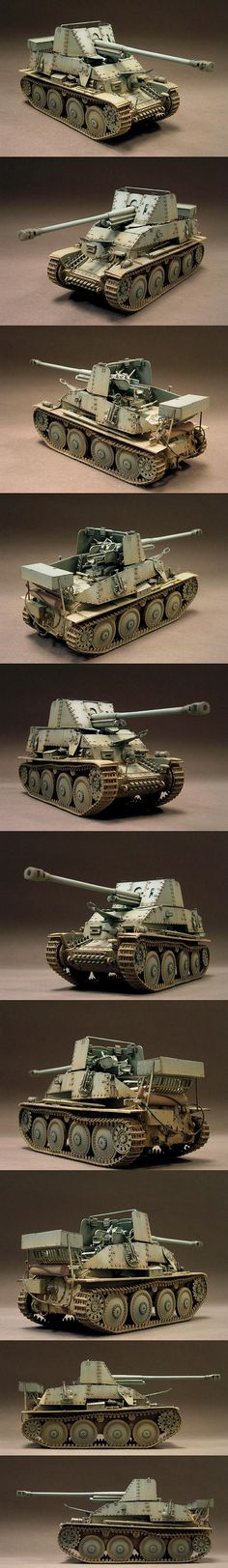 Marder III 1/35 Scale Model