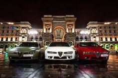 Alfa Romeo night out! Alfa Brera, Alfa Romeo Brera, Alfa Romeo Usa, Alfa Romeo Cars, Alfa 159, Alfa Giulia, Best Of Italy, Car Chevrolet, Cute Cars
