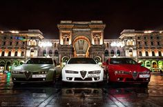 Alfa Romeo night out!