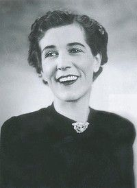 A laughing Georgette and apparently Georgette Heyer's favourite photograph of herself.