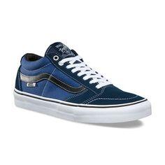 Zapatillas Vans TNT SG Pro Ortholite Blue Black (Z9457) 04 Vans Tnt, Slip, Sneakers, Shoes, Black, Fashion, Zapatos, Black People, Tennis