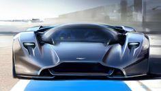 """La DP-100, à l'existence purement virtuelle dans le jeu vidéo """"Gran Turismo 6"""" pourrait bien être une source d'inspiration pour le futur hypercar Aston/Red Bull."""