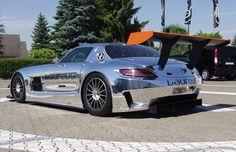 Mercedes-Benz SLS AMG GT3 - 25 Crazy Custom Chrome Cars   Complex