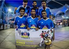 Jain University Bangalore students clinched Red Bull football tournament. Their next destination is Brazil.