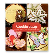 Lots of beautiful ideas in Cookie Swap, book authored by Julia Usher.   www.juliausher.co...