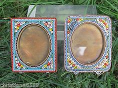 Antique Micro Mosaic frames