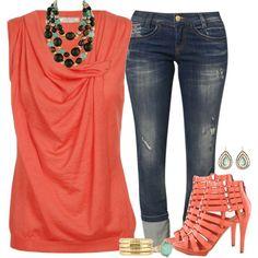 Coral Tunic :)