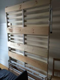 "Fantastic ""murphy bed ideas ikea apartment therapy"" info is offered on our site. Take a look and you wont be sorry you did. Apartment Therapy, Apartment Goals, Murphy-bett Ikea, Diy Bett, Modern Murphy Beds, Murphy Bed Plans, Small Space Solutions, Wooden Slats, Decorate Your Room"