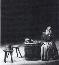 Helen Weigel -- Mother Courage silent scream