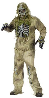Fun World Costumes Mens Teen Skeleton Zombie Costume Tag a friend who can pull this off! #Zombie #Halloween #Costume