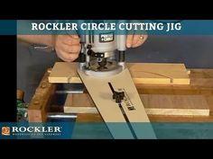 Rockler Circle Cutting Jig - Rockler Woodworking Tools
