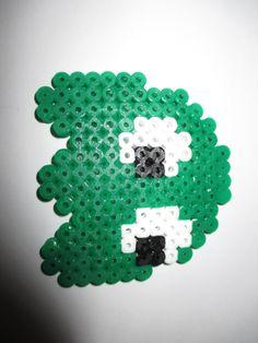 Hama Beads Pac-Man Ghost
