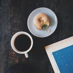Snacks and coffee