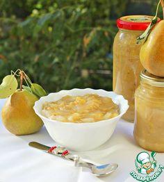 Бананово-грушевый джем с белым шоколадом – кулинарный рецепт