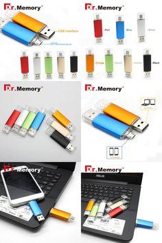 [Visit to Buy] Dr.Memory OTG Flash Drive Full Capacity Smart Phone Pen Drive 64GB USB OTG Flash 32GB 16GB Memory U Stick OTG external storage #Advertisement