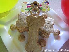 Peanut Butter Oatmeal Dog Treats