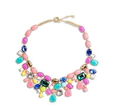 Sweet candy colour necklace