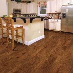 Home Legend Distressed Kinsley Hickory 1/2 in. T x 5 in. W x 47-1/4 in. Length Engineered Hardwood Flooring (26.25 sq. ft. / case)-HL132P - The Home Depot