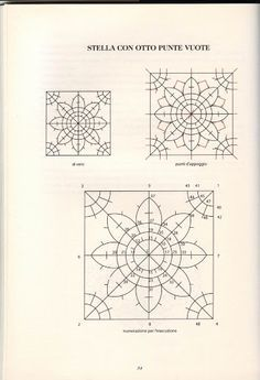 punta in aria lace. | 1000+ images about hardanger on Pinterest | Teneriffe, Drawn thread ...