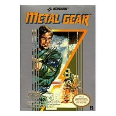 """As the newest recruit member of the elite black-ops group FOX-HOUND, Solid Snake must infiltrate the small fortified nation known as Outer Heaven and gather intelligence on the new prototype weapon called """"Metal Gear"""" Vintage Video Games, Classic Video Games, Retro Video Games, Vintage Games, Video Game Art, Retro Games, Metal Gear Solid, Mega Drive Games, Pc Engine"""