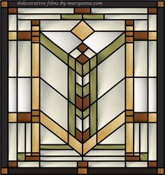Quoitzel Stained Glass Window Clings for clear transom windows ...