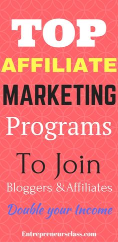32 top affiliate marketing programs that pay high commissions.Check out 32 high paying affiliate programs on different niches.