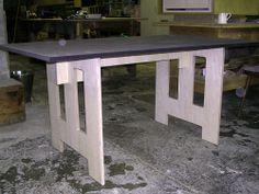 tafel - plaatconstructie
