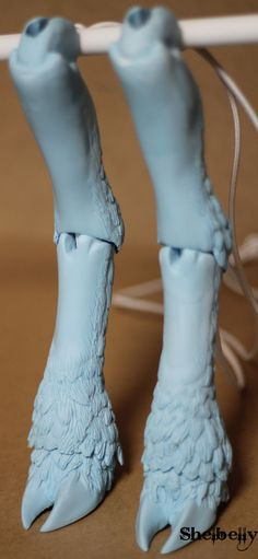deviantART: More Like W.I.P: Firefox BJD - right hand skeleton and base by *PuppitProductions