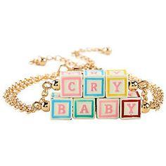 Melanie Martinez Cry Baby Blocks Bracelet Set Hot Topic