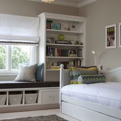 Contemporary Kids Photos Bay Window Design, Pictures, Remodel, Decor and Ideas