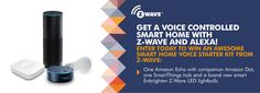 Get A Smart Home With Voice Control With Z-Wave and Alexa! #PROMO