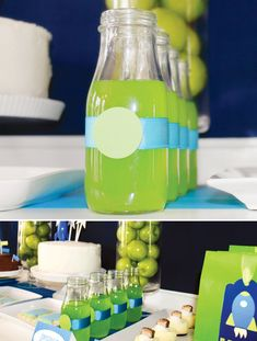 Buzz Lightyear Inspired Toy Story Birthday Party- could have used this a few years ago!
